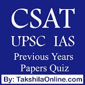 CSAT UPSC Prelims Papers