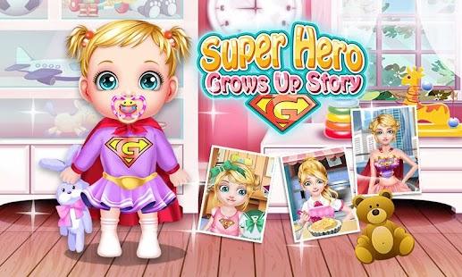 Tải Superhero Grows Up Story miễn phí