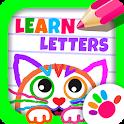 ABC DRAW 🎨 Kids Drawing! Alphabet Games Preschool icon