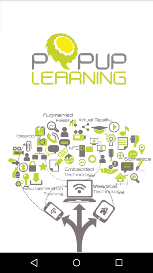 Popup Learning- screenshot