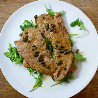 Veal Scallopini With Lemon.