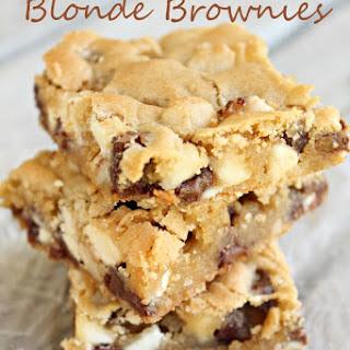 Loaded Blonde Brownies