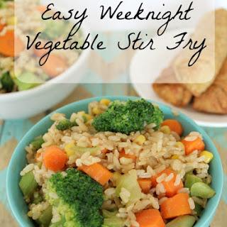 Easy Weeknight Vegetable Stir Fry