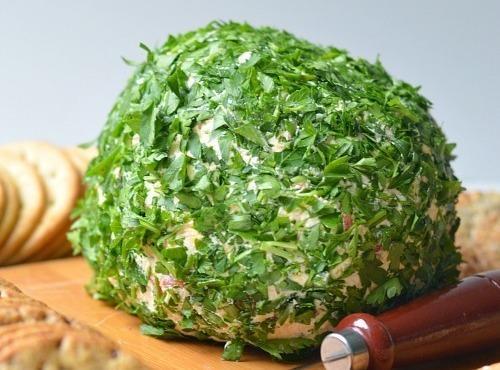 Onion & Bell Pepper Cheese Ball Recipe