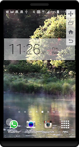 Peaceful River HD LWP screenshot 0