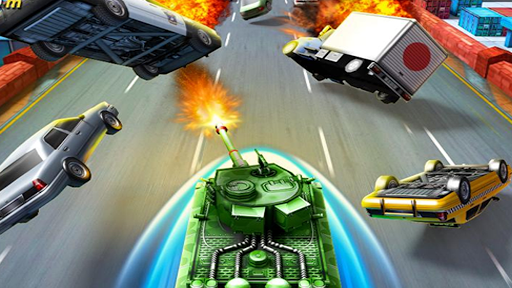Crazy Road Racing War - screenshot