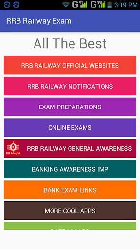 RRB Railway Exam [Links]