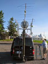 Photo: K8GP / Rover - FN00RG (looking N) - ARRL June VHF 2014