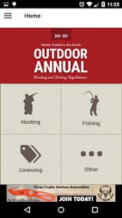 Texas Outdoor Annual- screenshot thumbnail