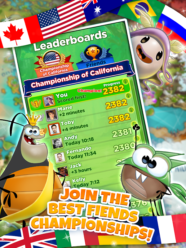 Best Fiends - Free Puzzle Game screenshots