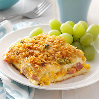 Ham 'n' Cheese Strata
