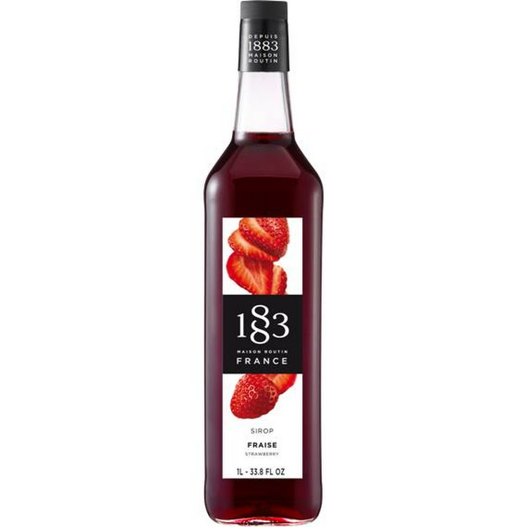 1883 STRAWBERRY SYRUP 1L by Trendy ProAsia