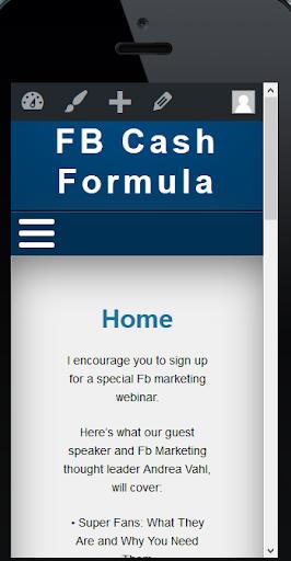 Facebook Cash Formula