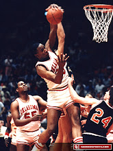 Photo: Tisdale battles for a rebound against Oklahoma State.