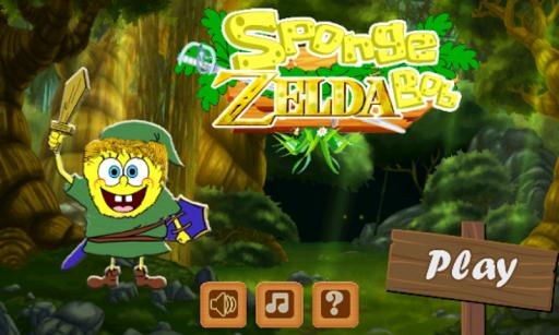 Sponge Zelda Bob