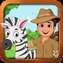 تعلم والعب : حيوانات الغابة