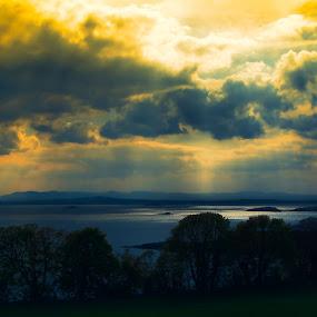 River Forth by Mark Denham - Landscapes Weather ( forth, scotland, river forth, river )