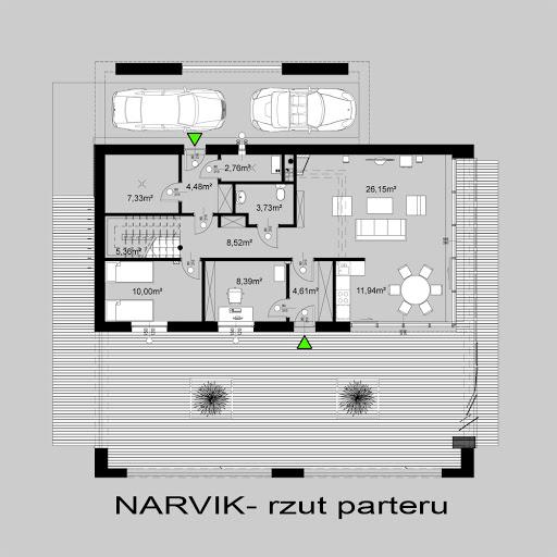 Narvik - Rzut parteru