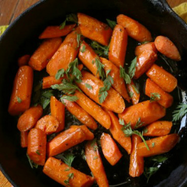 Ginger Garlic Honey Glazed Roasted Carrots Recipe