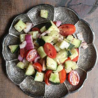 Iraqi Summac Salad.