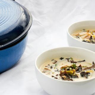 Cream of Mushroom with Asparagus