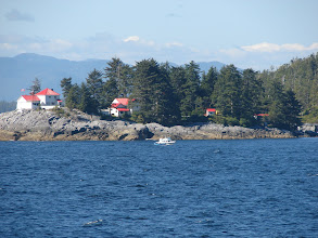 Photo: Robb Point Light on Ivory Island
