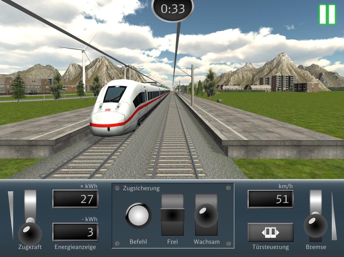 db zug simulator android apps auf google play. Black Bedroom Furniture Sets. Home Design Ideas