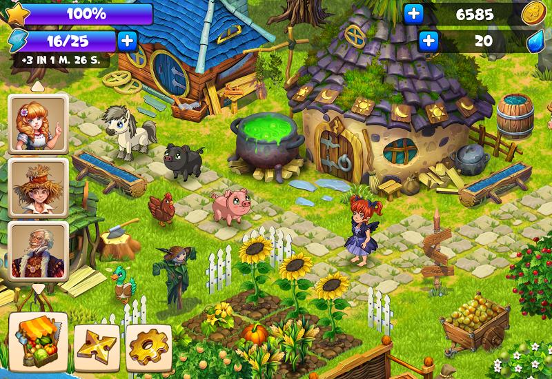 Farmdale - farm village simulator Screenshot 12