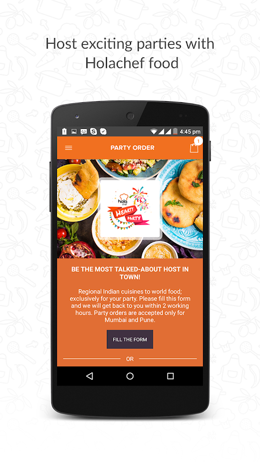 Holachef Order Food Online- screenshot