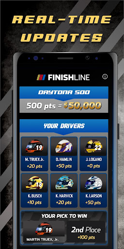 NASCAR Finish Line screenshot 4