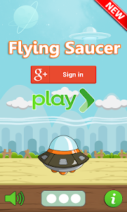 Flying Saucer Game Pro – Vignette de la capture d'écran