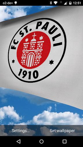 HSV und FC St. Pauli Flaggen