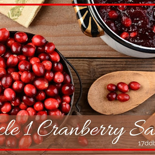 Cycle 1 Cranberry Sauce
