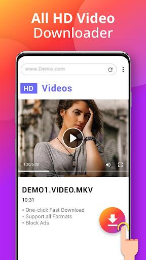Downloader - Free Video Downloader App App Report on Mobile