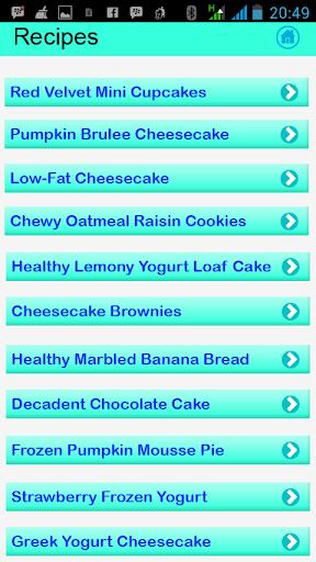 健康的点心食谱