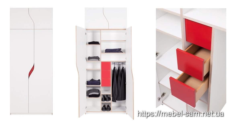Внутренняя начинка шкафа из фанеры