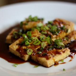 Dinner Tonight: Pan-Fried Tofu with Dark Sweet Soy Sauce.