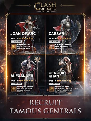 Clash of Empire: Epic Strategy War Game 5.16.1 screenshots 18