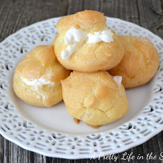 Simple and Easy Cream Puffs.