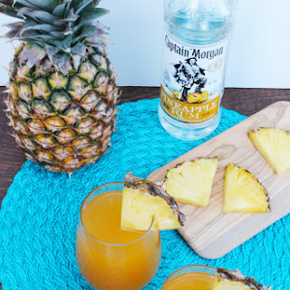 Pineapple Mango Rum Punch.