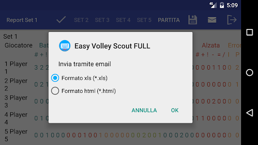 Easy Volley Scout PRO screenshot 7