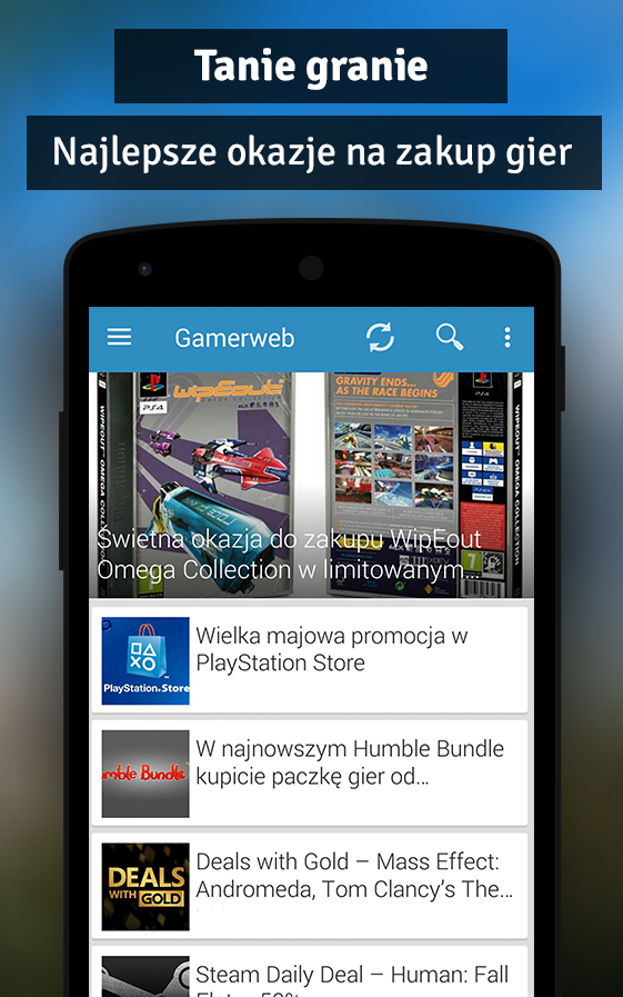 Gamerweb- screenshot