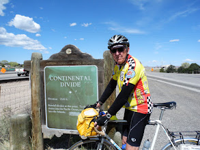 Photo: We crossed the continental divide today