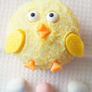 Baby Chick Cupcakes.