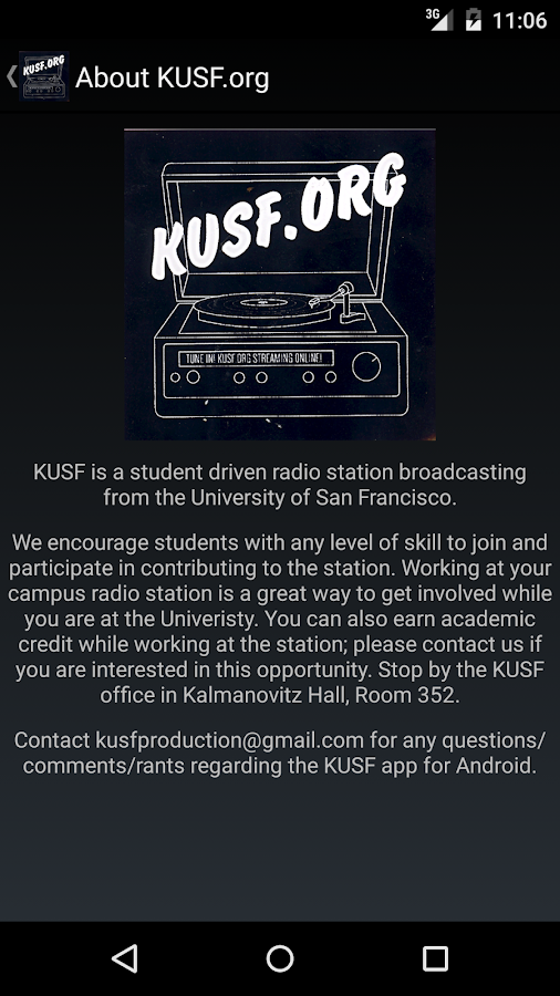 KUSF.org- screenshot