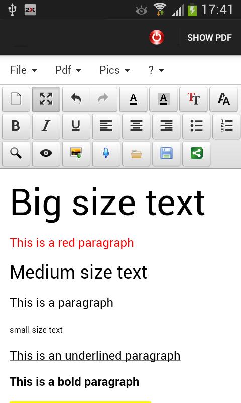 MAKER FOR WORD- screenshot