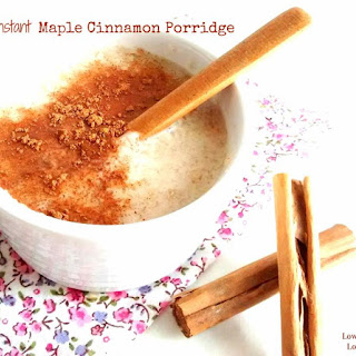 Instant Maple Cinnamon Porridge
