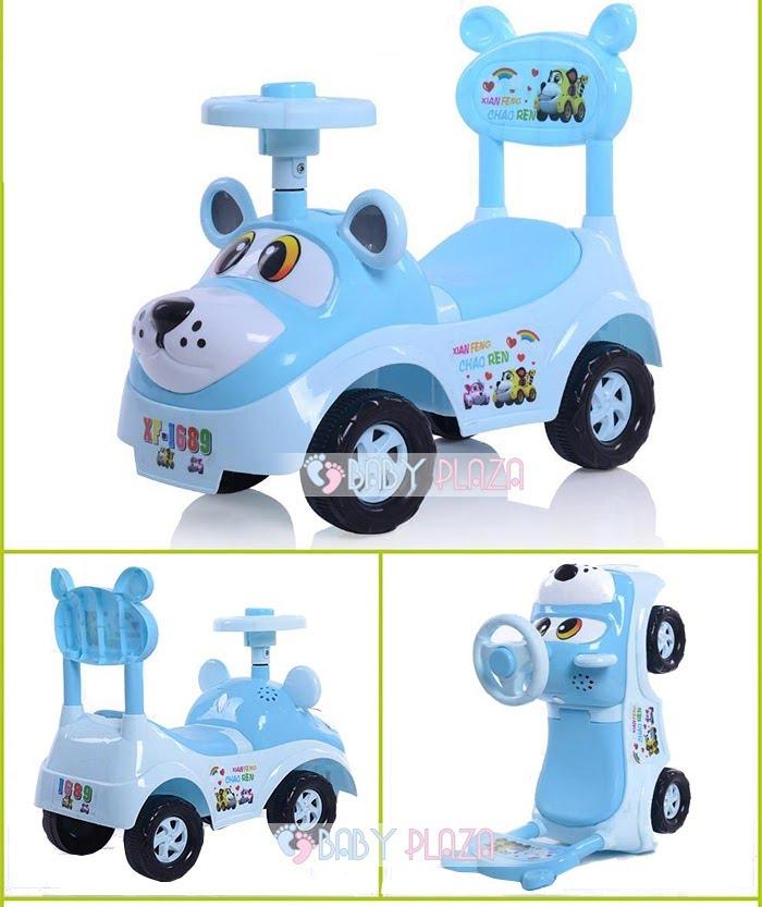 Xe chòi chân trẻ em TC-323 7