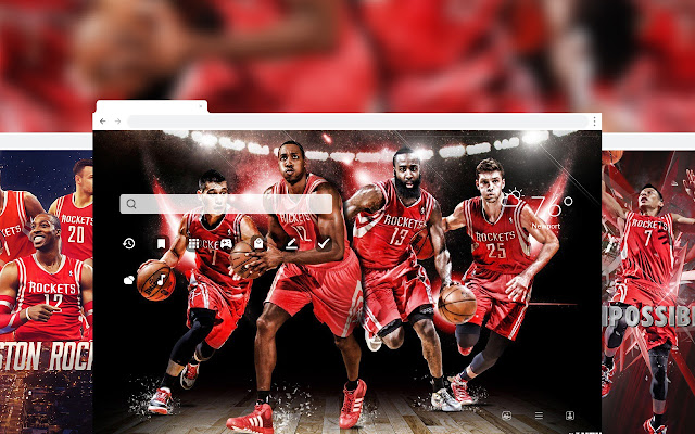 Houston Rockets NBA Basketball HD Theme