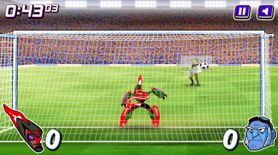 Alien Transform penalty power football game 4